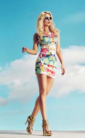 Kleid-mit-Blumenprint